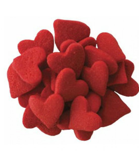 Jumbo Red Heart Shapes Sprinkle